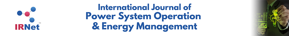 International Journal of Power System Operation and Energy Management