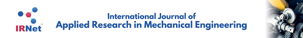International Journal of Applied Research in Mechanical Engineering