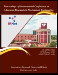 Proceedings Of International Conference  on  Advanced Research  in Mechanical Engineering