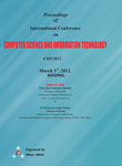 Proceedings of International Conference on Computer Science and Information Technology by Prof.Srikanta Patnaik Mentor