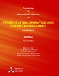 Proceedings of International Conference on Power System Operation and Energy Management